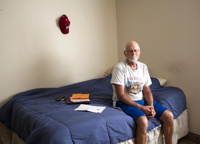 Steve - homeless veteran client in Evansville