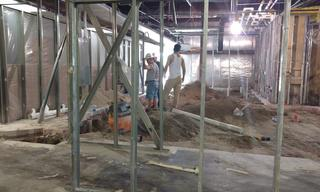 Take a closer look.  Next steps – new plumbing, electrical, floors, walls, and more.