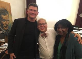 Earl Hines, Thomas Lauderdale, and Kay Toran