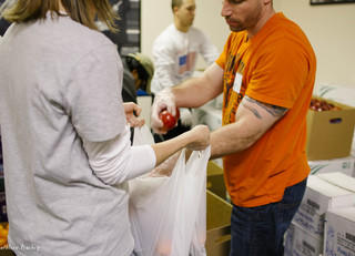 Volunteers needed to bag grocery items for families in need
