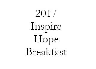 2017 Inspire Hope Breakfast