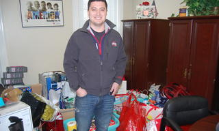 Thank you for adopting a family and giving them a beautiful Christmas!
