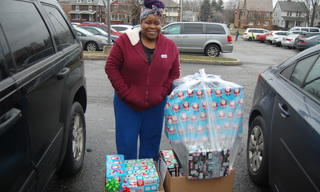 Stephanie and her family's gifts