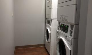 New washers and dryers for Family Housing.