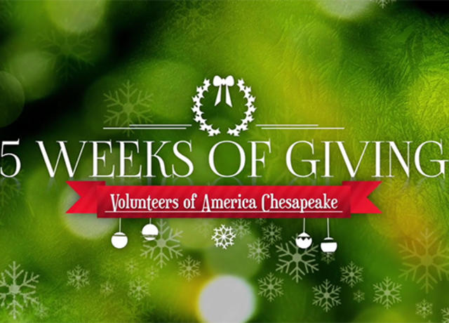 5 Weeks of Giving