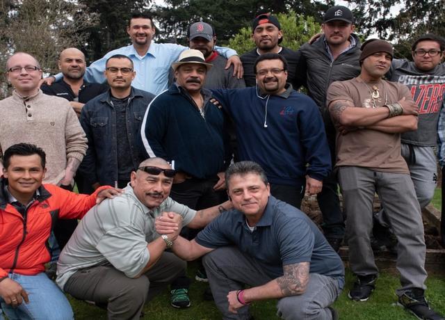 Group photo of men