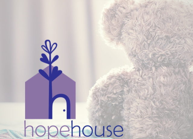 Hope House 2.0 Logo and bed