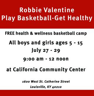 Robbie Valentine Basketball Camp