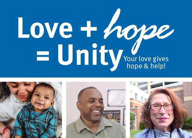 Love + Hope = Unity