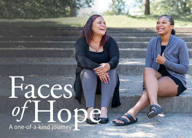 Faces of Hope | Mother and Daughter