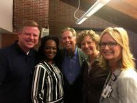Staff of Volunteers of America of Indiana with Congresswoman Susan Brooks