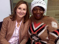 Julie Whitsett & Candace, volunteers in the Second Chance Mentoring Program