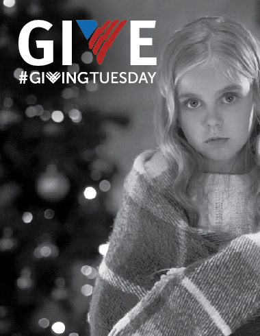 Giving Tuesday. Give a gift from the heart