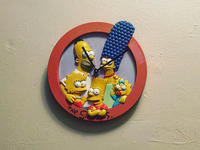 volunteers of america ohio thrift store simpsons wall clock
