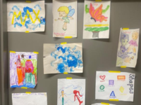 Children's Artwork from the Respite Center