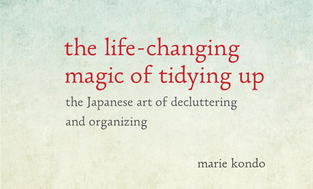 Cover art from Marie Kondo