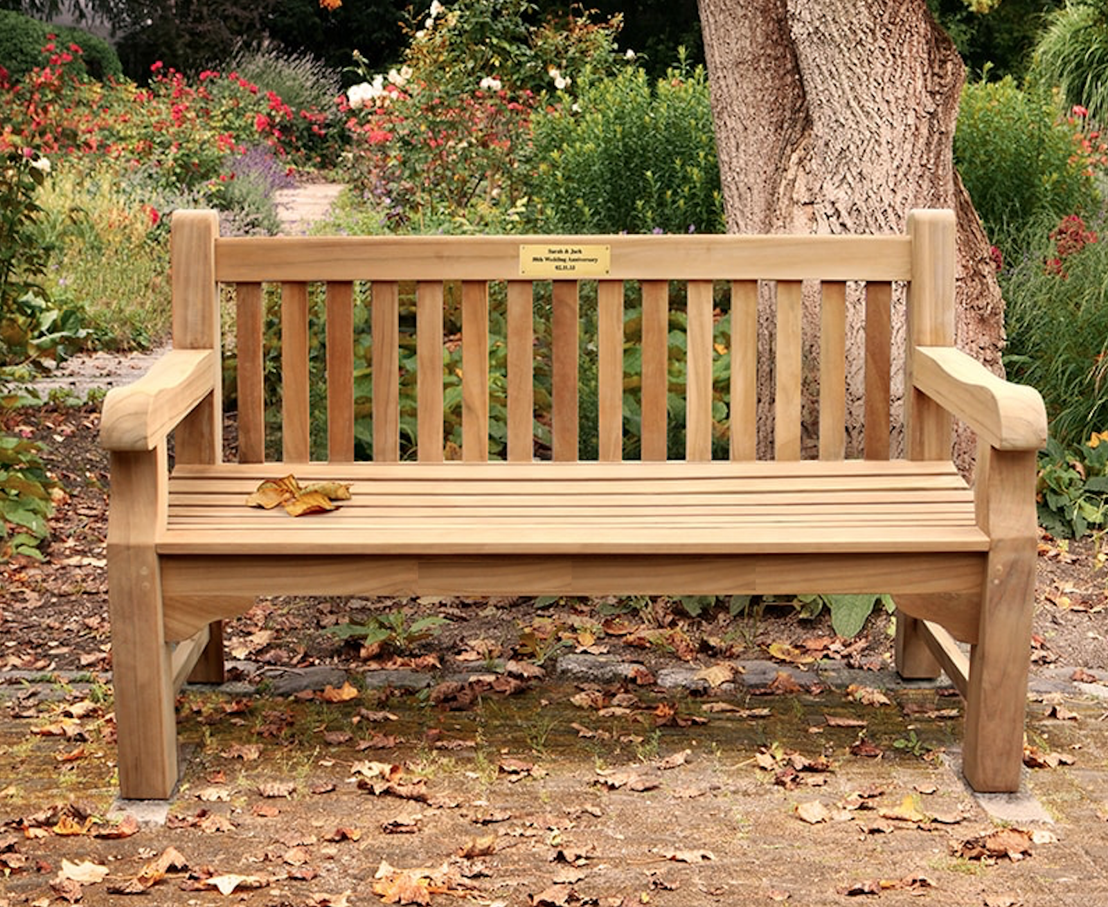 Sponsor a Bench at Cabin in the Woods | Volunteers of America