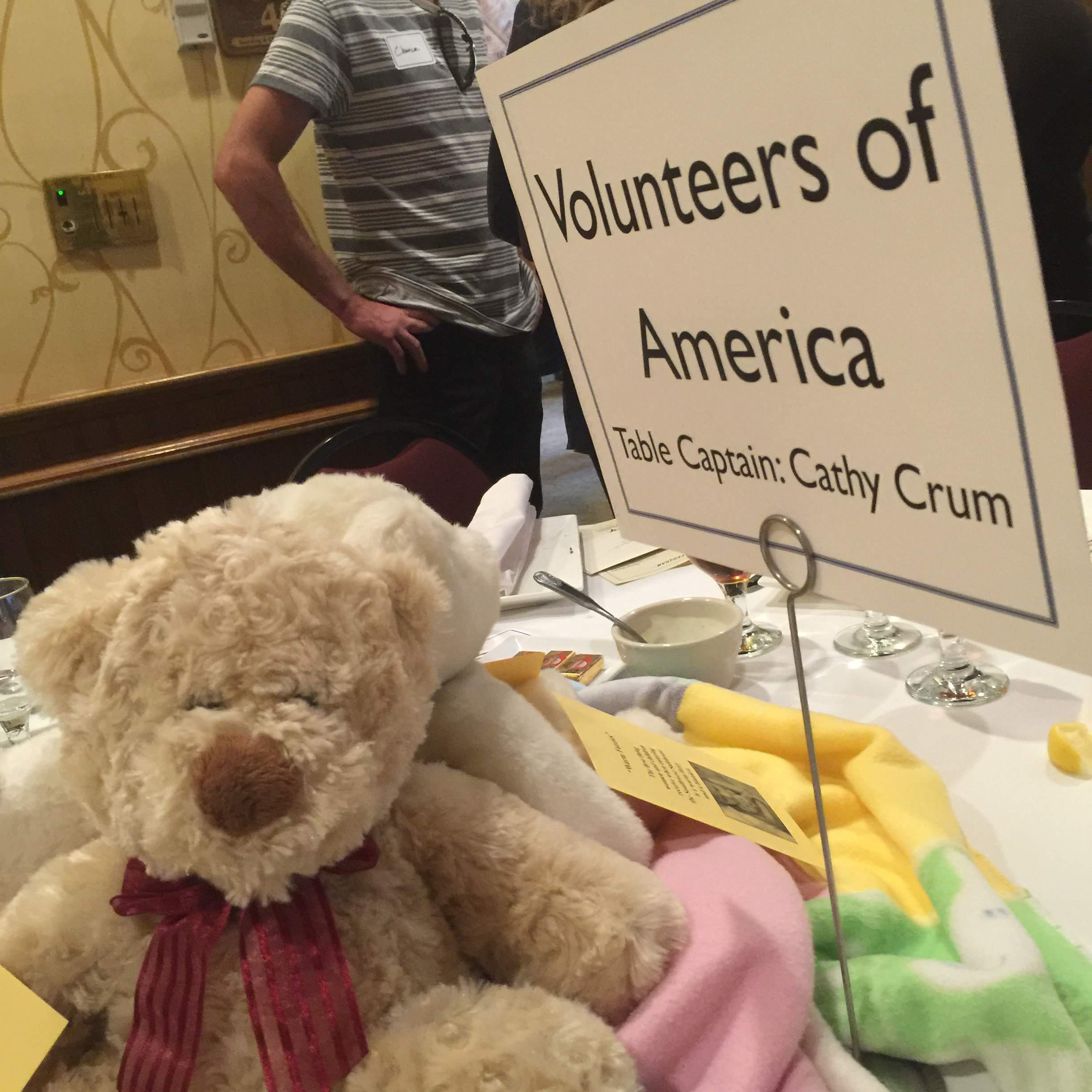 Shelter From the Storm Table Captain Cathy Crum
