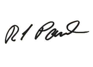Rick's signature