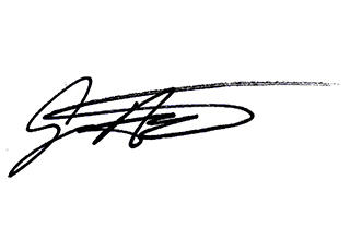 Jeff's signature