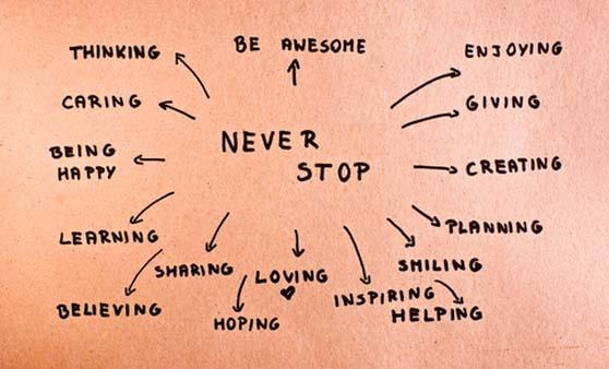 Never_stop....personal_improvement_sayings_2018.jpg