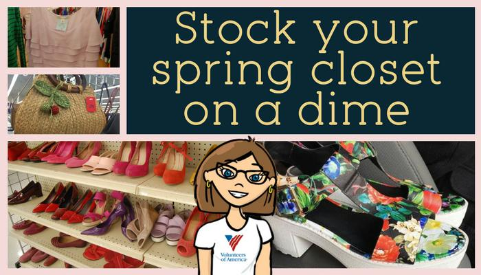 Stock your spring closet on a dime