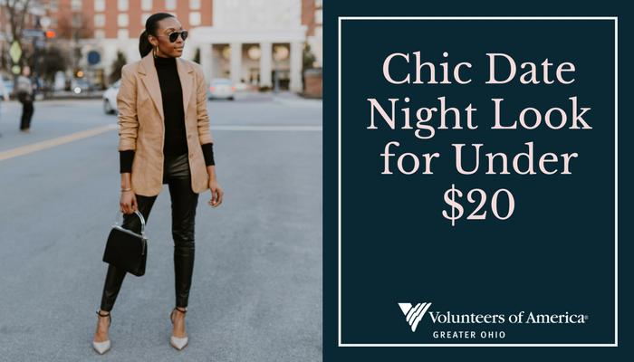 chic date night look for less than $20