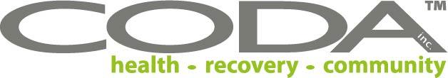 CODA logo, health, recovery, community