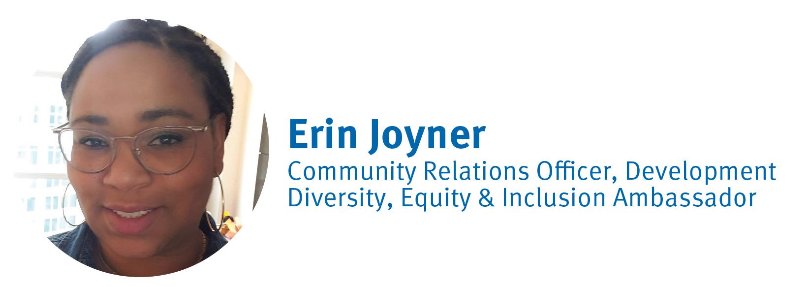 Erin Joyner, DE&I Ambassador