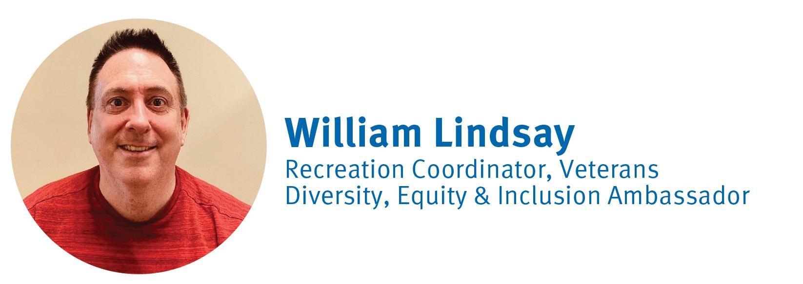 William Lindsay, DE&I Ambassador