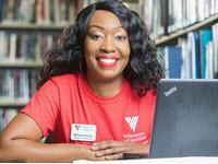 Melissa Peeler, benefits specialist with Volunteers of America Greater Baton Rouge