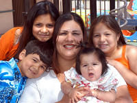 A family affected by incarceration